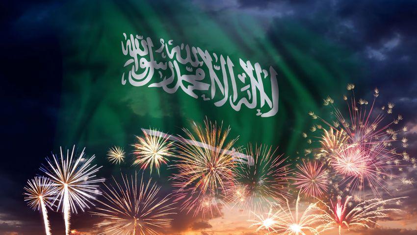 فيديو  أغانِ ورسائل حب.. النجوم يحتفلون باليوم الوطني السعودي
