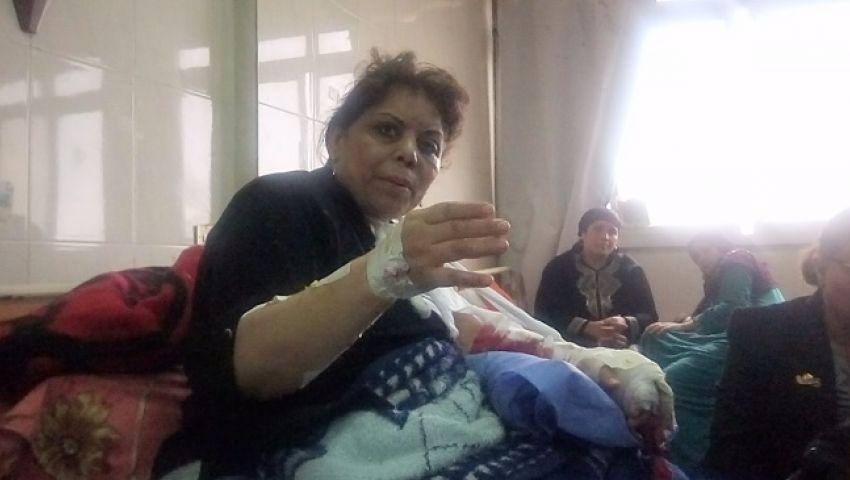بالفيديو| «مارية».. قصة ناجية حاصرها الموت أمام «الهيكل المقدس» بطنطا
