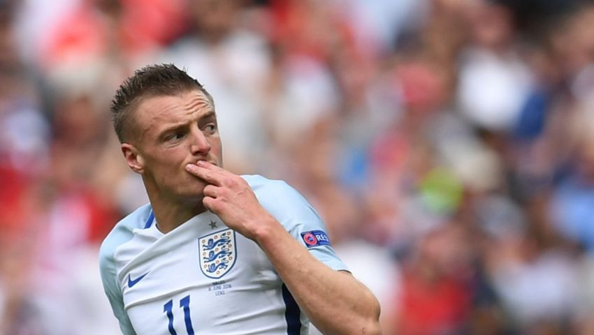 بالفيديو| فاردي يقود إنجلترا للفوز على ليتوانيا
