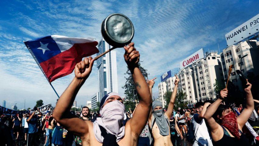 تشيلي.. تواصل المظاهرات الاحتجاجية المناهضة للحكومة