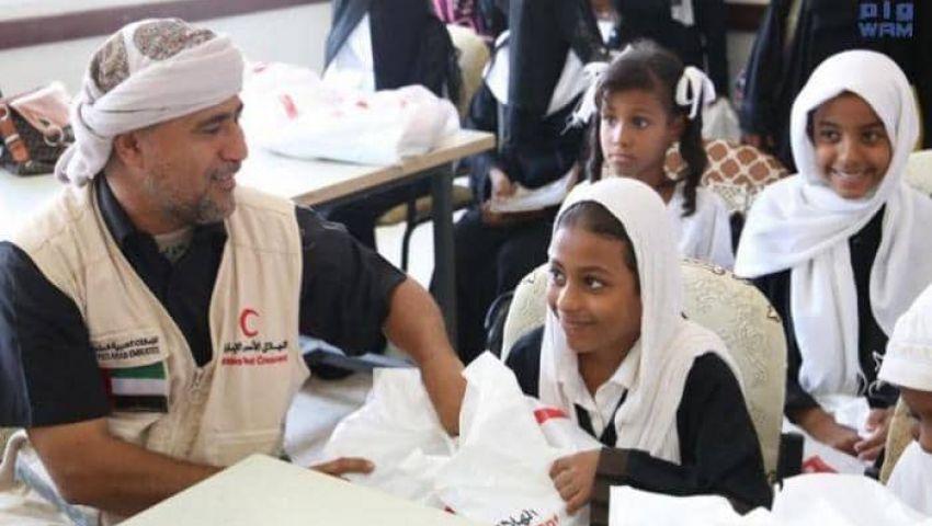 كسوة العيد.. دول التحالف ترسم البسمة على فقراء اليمن