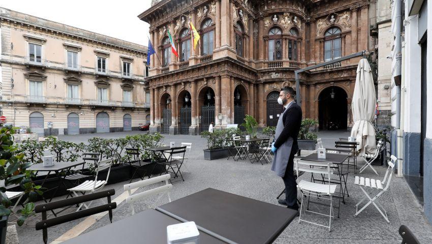 566 وفاة جديدة بكورونا في إيطاليا.. و1224 حالة شفاء