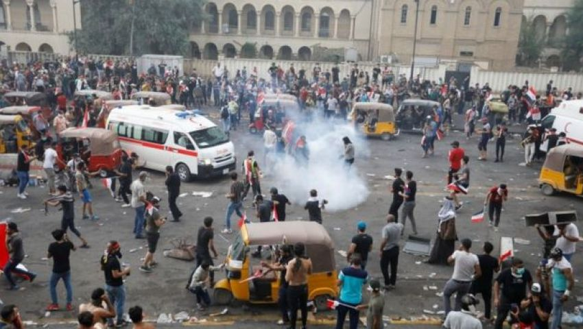 احتجاجات العراق.. عنف وغضب يطالان أذرع إيران