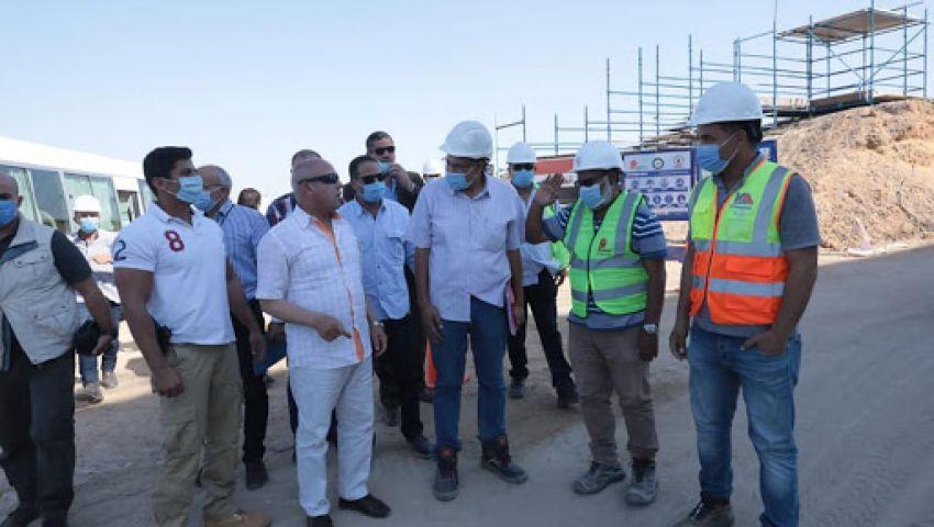 فيديو وصور  تنفيذ 63% من الأعمال الإنشائية للقطار الكهربائي (السلام-العاصمة الإدارية)