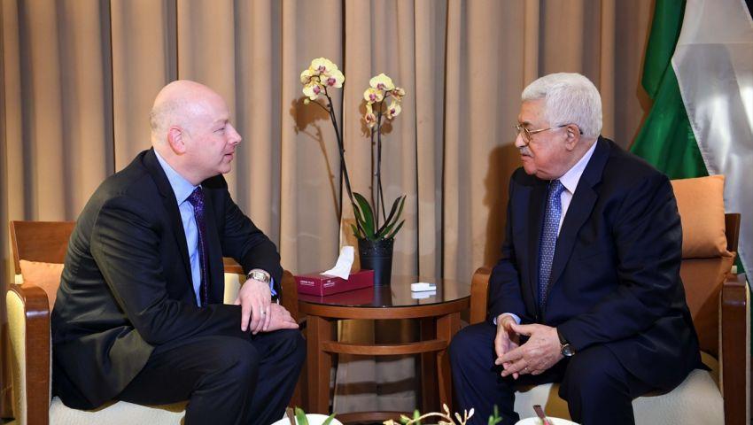 الأردن.. عباس يلتقي مبعوث ترامب لعملية السلام