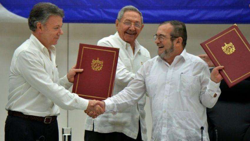 انتهاء لقاءات الحكومة الكولومبية بمتمردي فارك