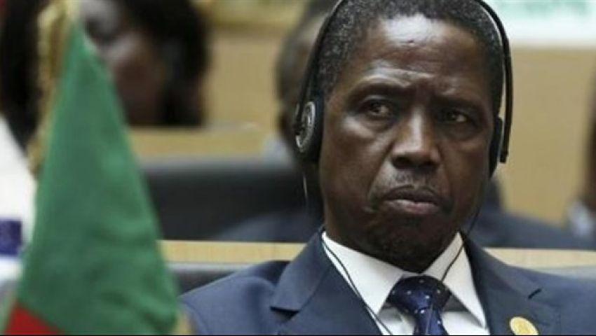 رئيس زامبيا يقرر تأجيل زيارته للقاهرة بسبب الأحداث الأخيرة