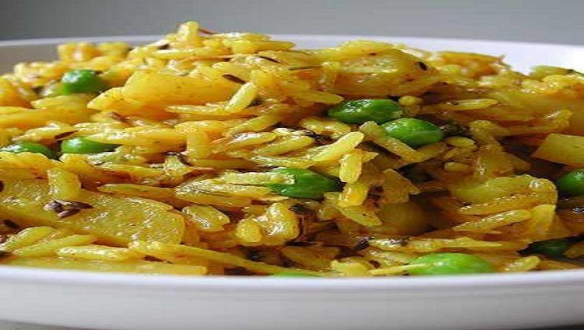 طريقة عمل الرز بالبطاطس .. وصفة من المطبخ الهندي