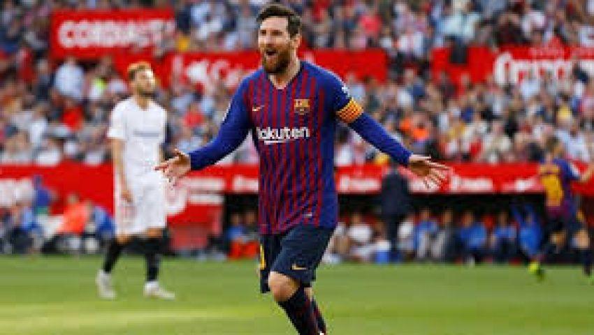 إنفوجراف| التشكيل الرسمي لبرشلونة أمام فياريال.. ميسي بديلاً