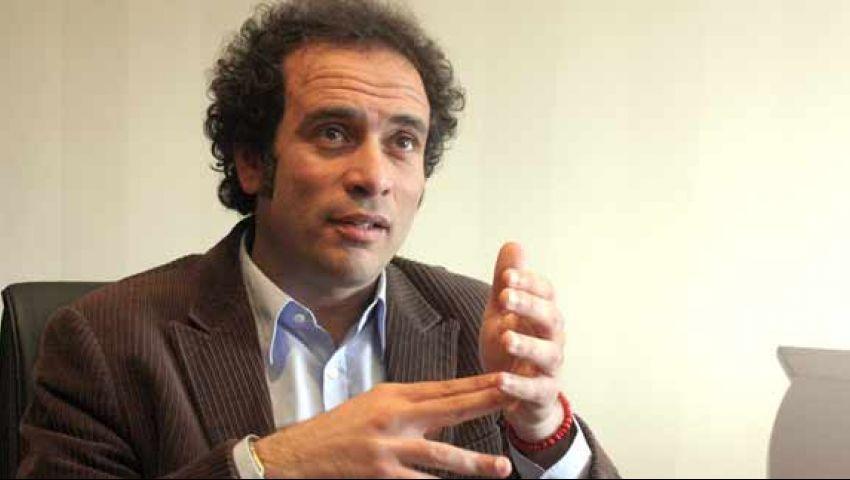 عمرو حمزاوي: كلنا مسؤولون عن التصدي للإرهاب