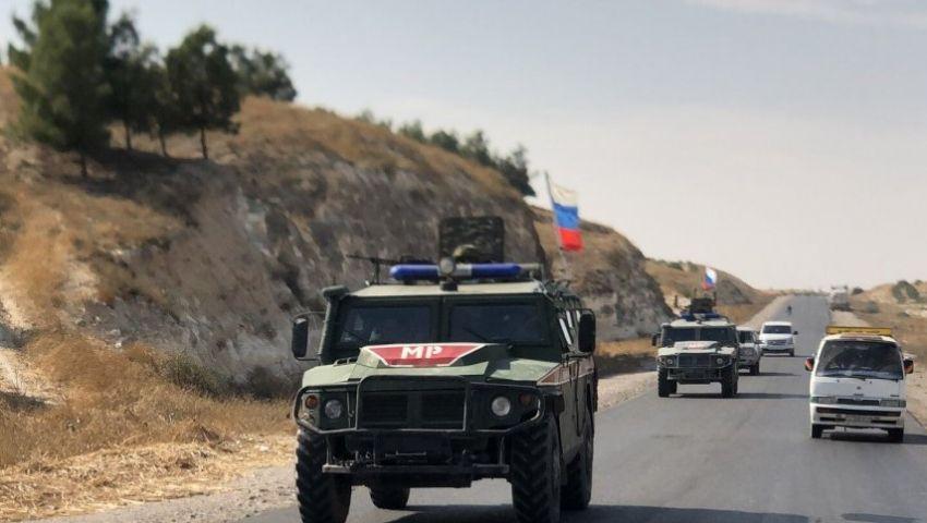 بموجب «تفاهم سوتشي».. روسيا ترسل عشرات المدرعات إلى سوريا