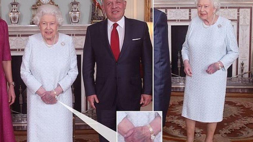 ميرور تكشف سبب كدمة ملكة بريطانيا المثيرة للمخاوف