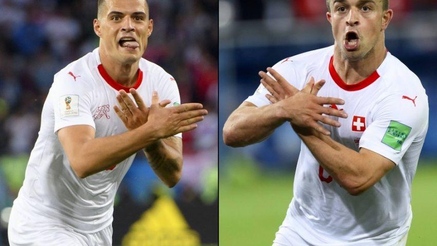 مونديال روسيا.. احتفالات لاعبي سويسرا بالفوز على صربيا تثير الجدل