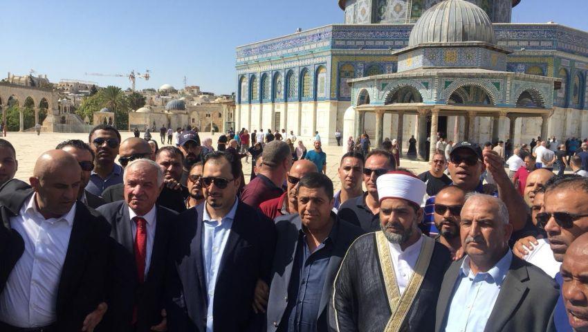 حصار واعتقالات وألفاظ نابية.. كيف استقبل الفلسطينيون المنتخب السعودي في القدس؟