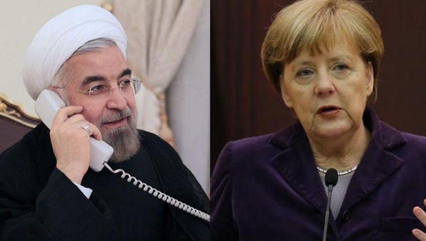 شبيجل: ميركل تخشى انتقام روحاني