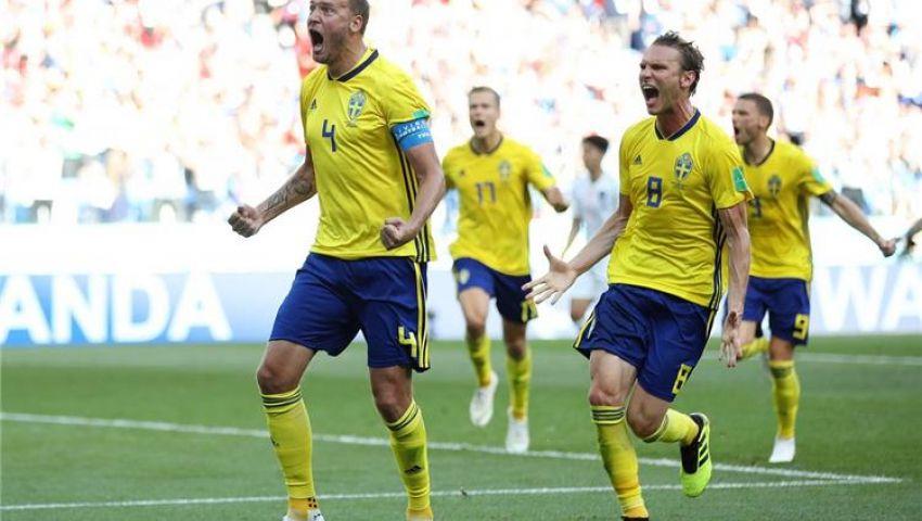 فيديو| 7 أرقام من مباراة السويد وكوريا الجنوبية في مونديال روسيا