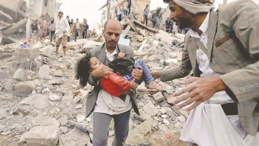 بتهديدات عبدالملك الحوثي وآمال المبعوث الأممي.. كارثة إنسانية تنتظر اليمن السعيد «فيديو»
