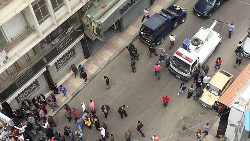 وفاة رائد شرطة و9 مواطنين  في انفجار الكنيسة المرقسية بالإسكندرية