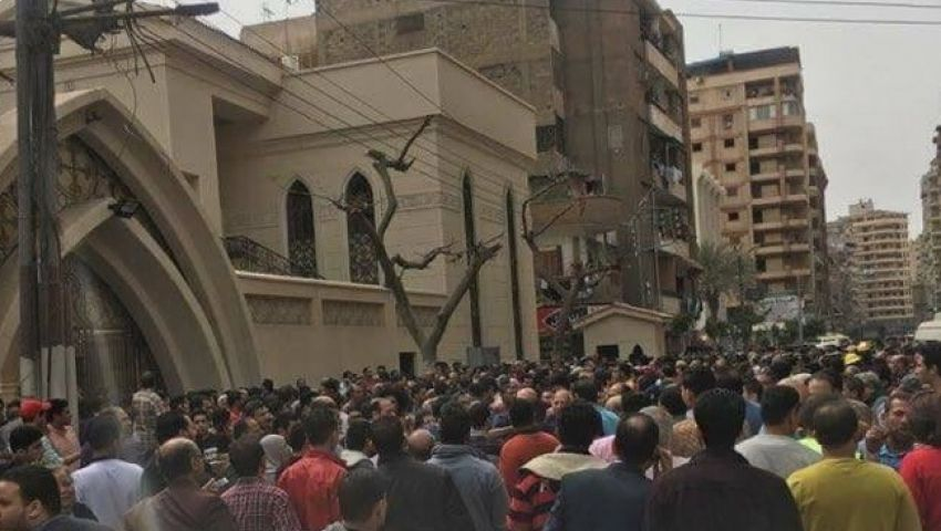 نيويورك تايمز: انفجار كنيسة مارجرجس بطنطا  .. رسالة لبابا الفاتيكان