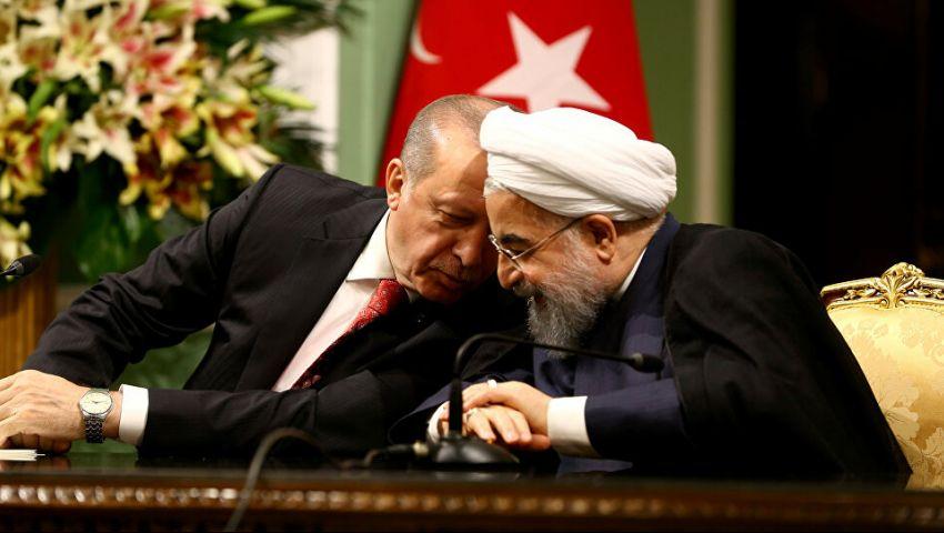 تعاون تركي- إيراني لمواجهة «التهديدات الأمريكية المشتركة»