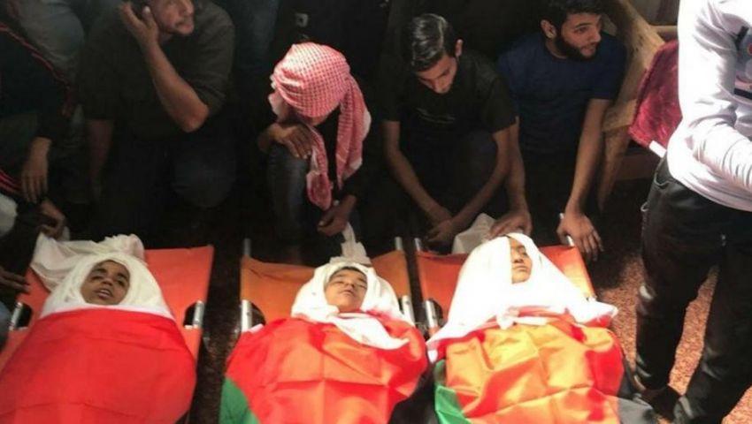 أطفال فلسطين على مذبح الاحتلال.. دماء تتبعثر على أرض الزيتون