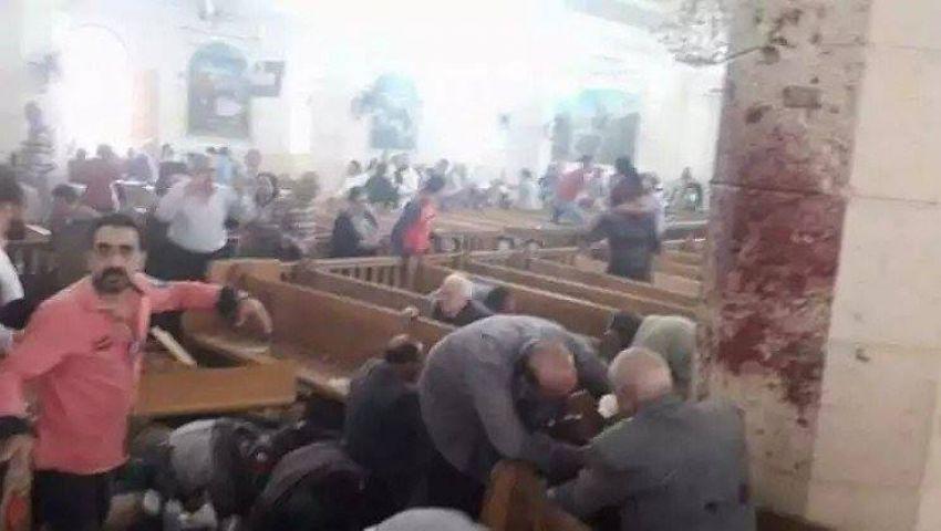 رئيس محكمة الإسماعيلية يدين تفجيرات كنائس طنطا والإسكندرية