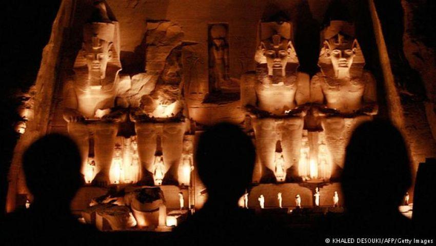 في 12 معلومة تعرف على ظاهرة تعامد الشمس على معبد أبوسمبل