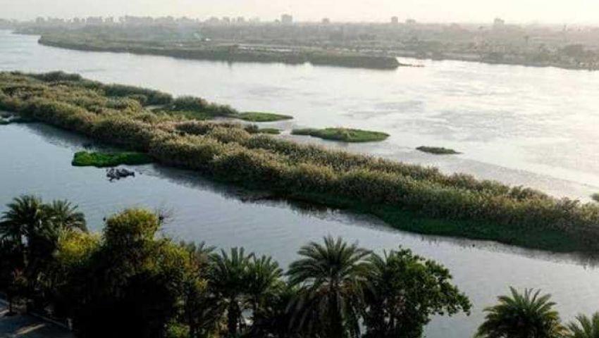 تحسبًا للفيضان.. إخلاء المبانى والحظائر بطرح النيل في القناطر