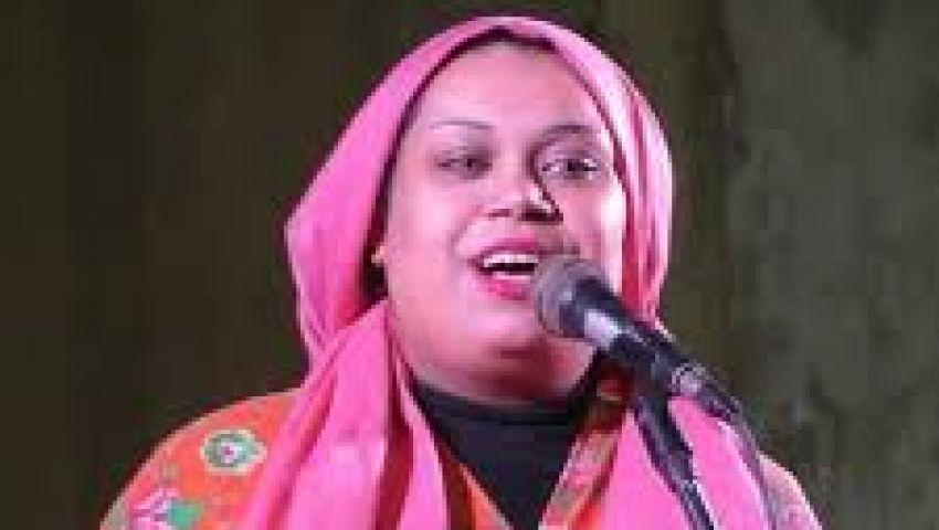 صور| شيماء النوبي أول مبتهلة في مصر تدخل عالم الإنشاد الديني