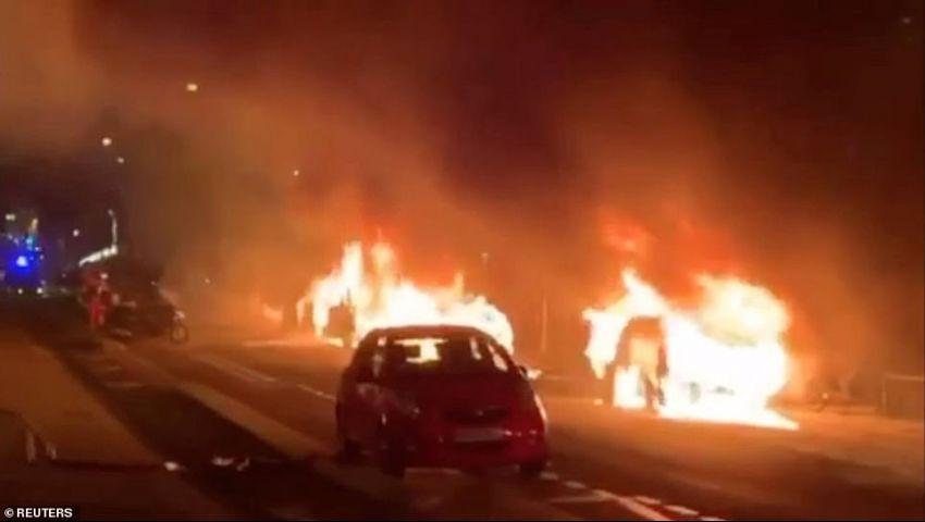بالفيديو| فرنسا تحترق مجددا لإجبار ماكرون على الاستقالة