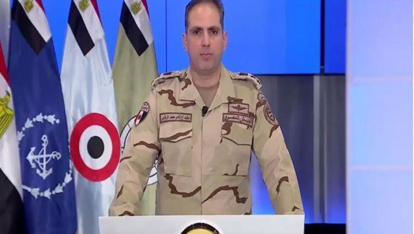 المتحدث العسكري يوجه تنبيهاً للمواطنين