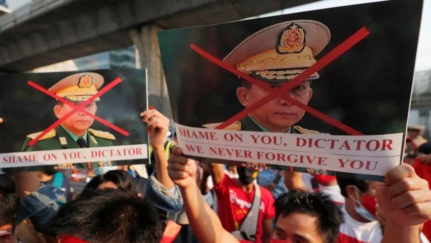 «للتخلص من الطغاة».. دعوات في بورما لتظاهرات مليونية