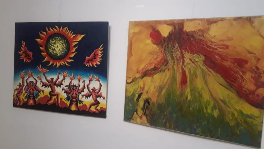 بالصور| لوحاته بآلاف الكلمات.. «التشكليين» تحتفي بإبداع سمير ظريف