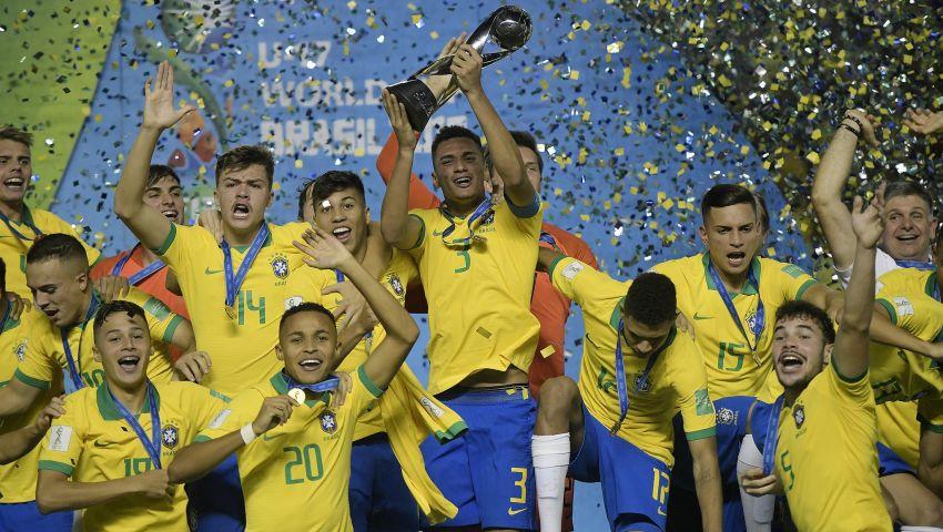 فيديو وصور| البرازيل تحسم كأس العالم للناشئين على حساب المكسيك