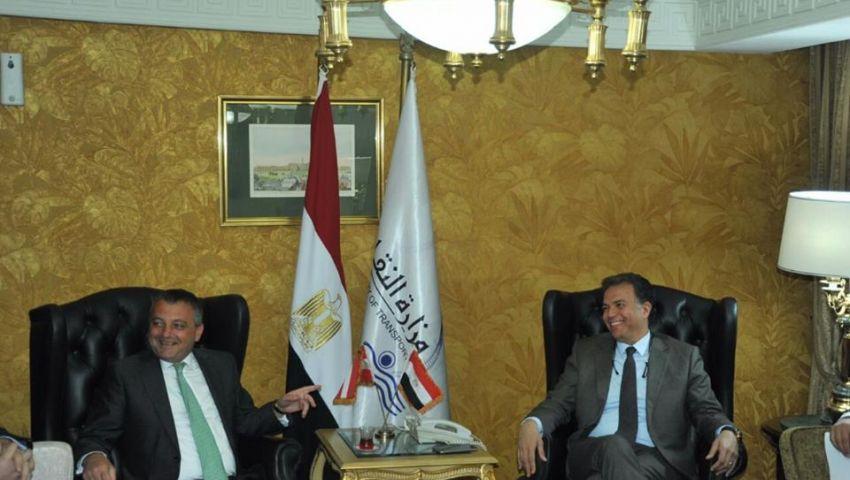وزير النقل يلتقي بسفير النمسا للتشاور حول صيانة السكك الحديدية