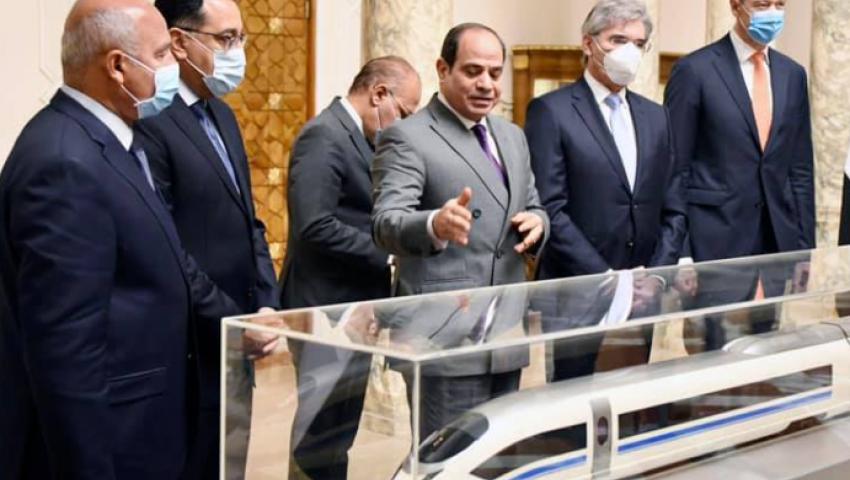 بتكلفة 360 مليار جنيه.. مصر تربط البحرين عبر «القطار الكهربائي»