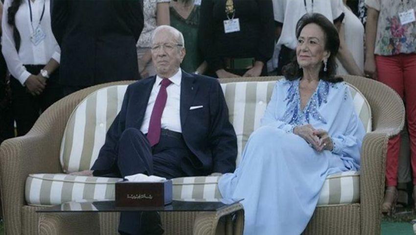 وفاة زوجة الرئيس التونسي الراحل الباجي قايد السبسي
