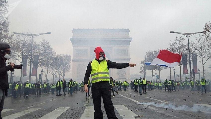 احتجاجات «السترات الصفراء» تبلغ شهرها الثامن.. ما الجديد؟