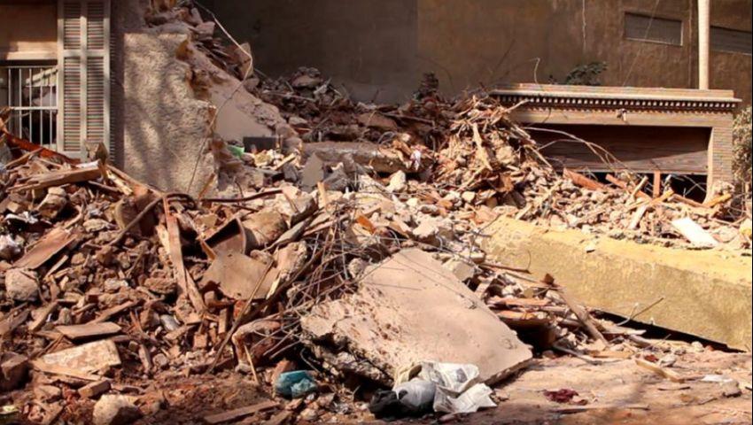 مسئول بالإسكان يكشف لـ«مصر العربية» أسباب انهيار عقار جاردن سيتي