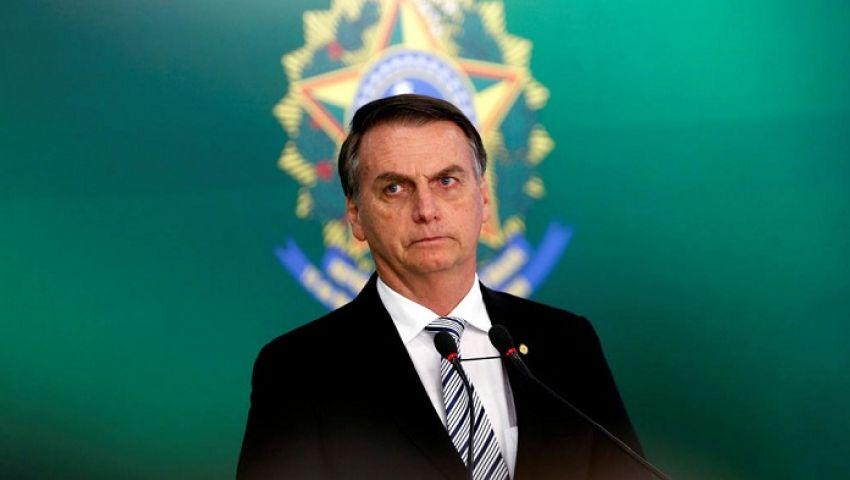 رئيس البرازيل لـ نظيره الفرنسي: الاعتذار شرط قبولمساعدات حرائق الأمازون