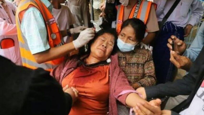 غداة تشييع أولى ضحايا الانقلاب.. قتيلان على «مذبح الحرية» في بورما