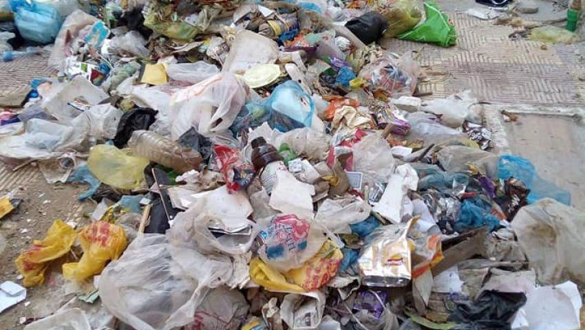 تلال القمامة تحاصر مدارس الإسكندرية.. والأهالي: الرائحة بشعة