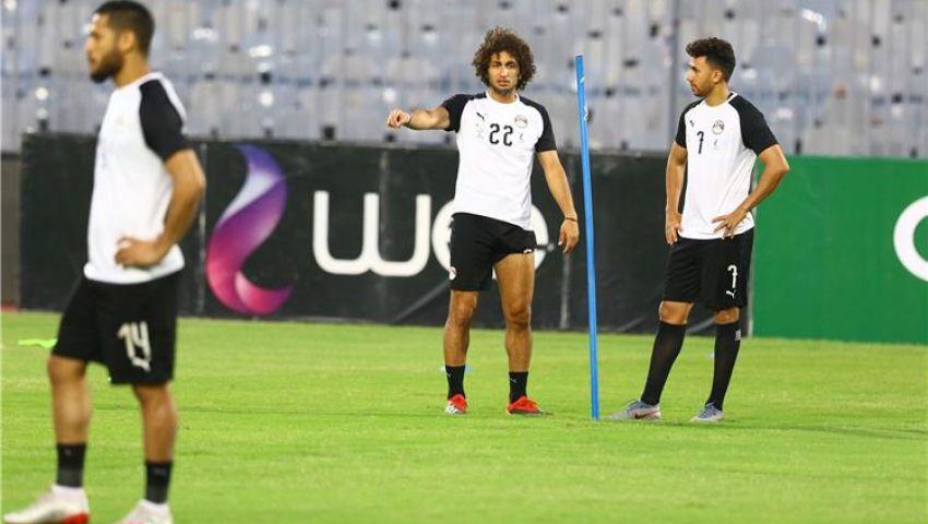 إنفو جراف| تشكيل منتخب مصر أمام تنزانيا فى ودية اليوم