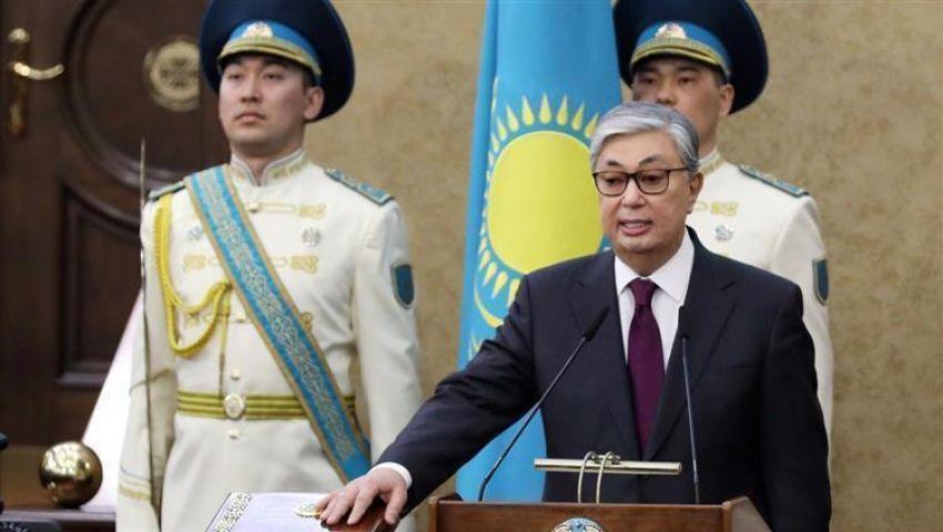 توكاييف يؤدي اليمين الدستورية رئيسًا لكازاخستان