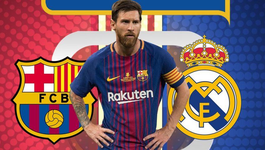 إنفوجراف| هكذا غيّر ميسي تاريخ برشلونة وريال مدريد