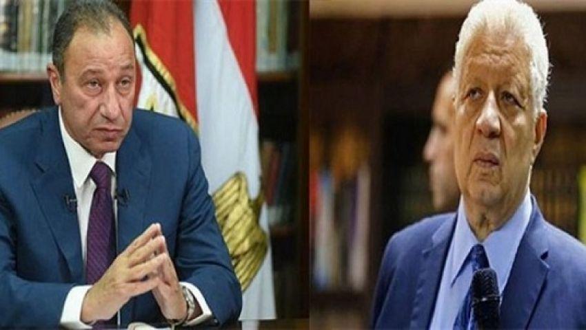 فيديو| تفاصيل الصراع بين مرتضى منصور ومحمود الخطيب