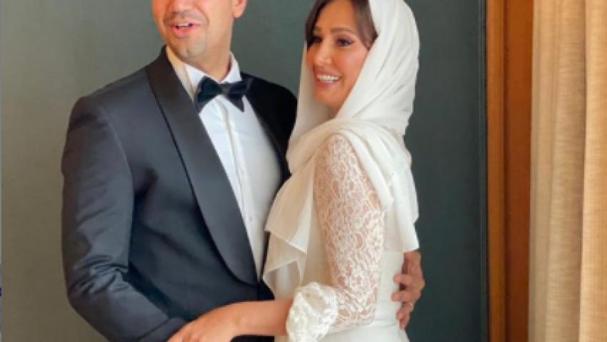 فيديو| تفاصيل زواج معز وحلا .. وهنا شيحة: أسعد أيام حياتي