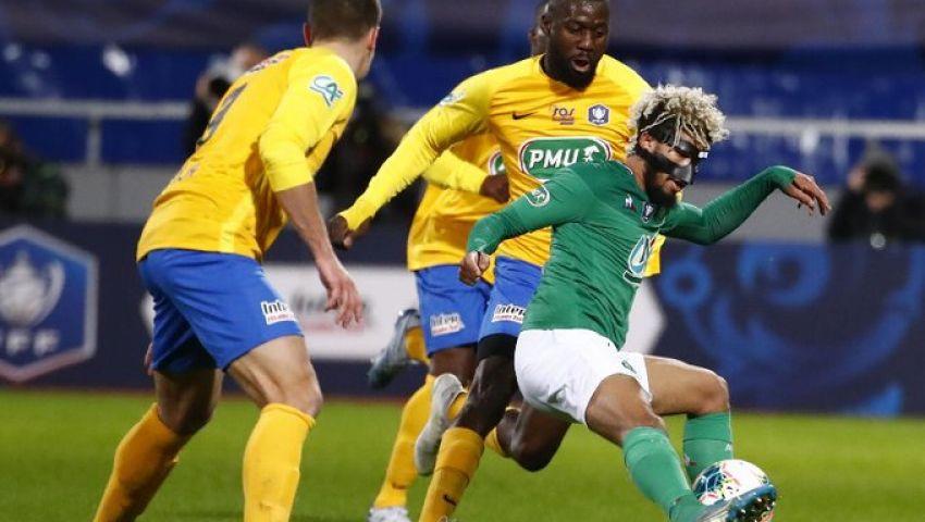 بالفيديو.. سانت ايتيان يُنهي مغامرة إبينال في كأس فرنسا