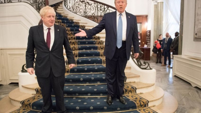 وسط انشغالها بانتخابات بـ«بريكست» . لندن تترقب زيارة ثقيلة لترامب