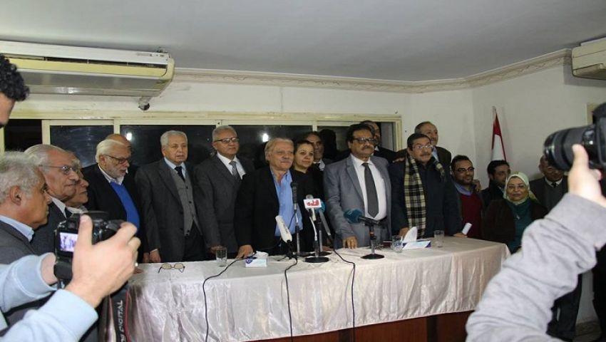 سياسيون وأحزاب يطلقون «الحركة المدنية الديمقراطية» لمواجهة «تغول» النظام